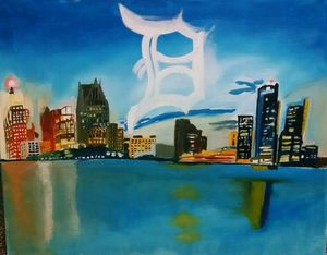 Detroit Scenery - LiFire Arts
