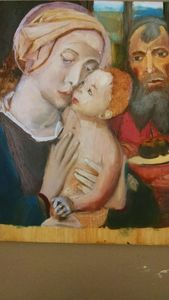 Copy of Gerard David's Holy Family