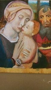 Copy of Gerard David's Holy Family - LiFire Arts
