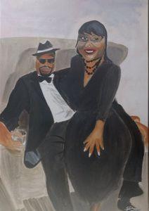 Tonia Jones (mom) and Steve Mitchell