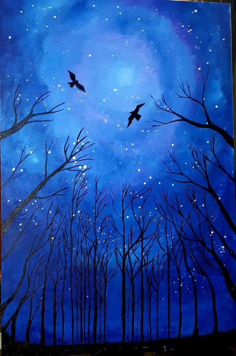 Night Sky - Creative ART