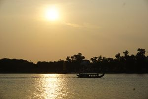 Huong River, Hue City, Vietnam