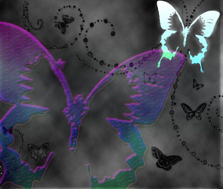 Satin Butterflies - KVLG Art