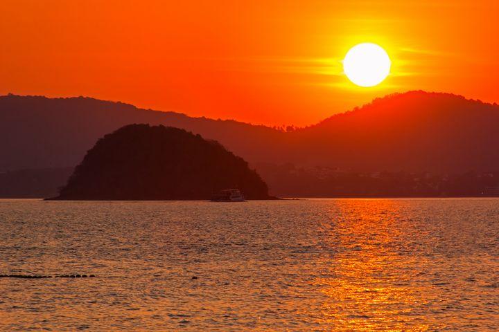 Colorful Sunrise Phuket Thailand - Kristin Greenwood