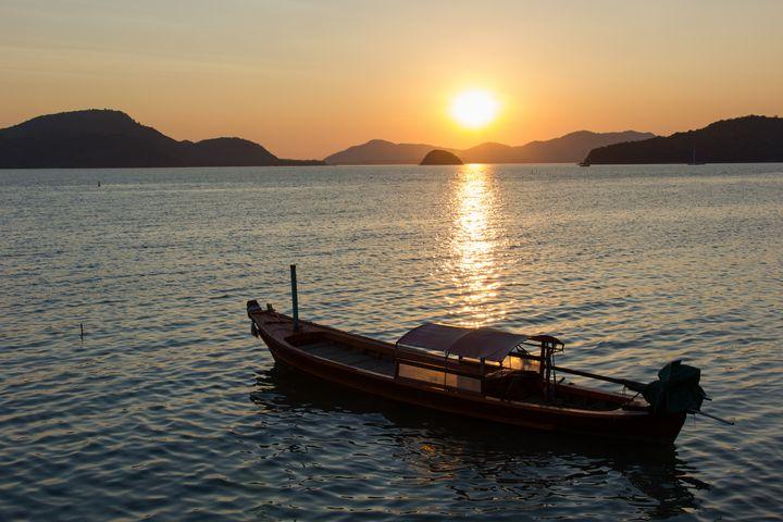 Colorful Sunset Phuket Thailand - Kristin Greenwood