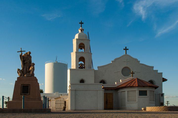 Saint Thomas Yuma Indian Mission - Kristin Greenwood