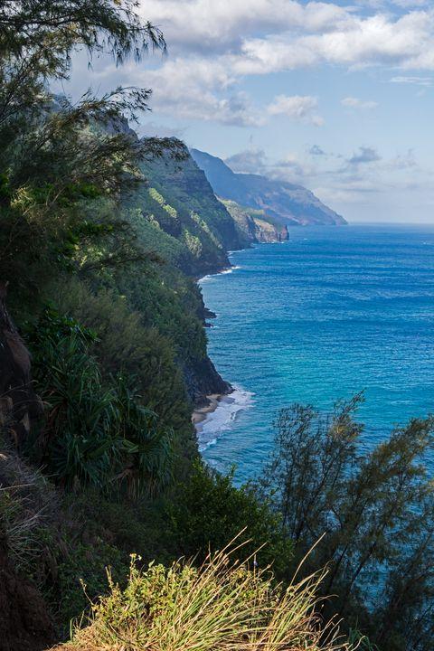 Kalalau Trail on Kauai Island Hawaii - Kristin Greenwood