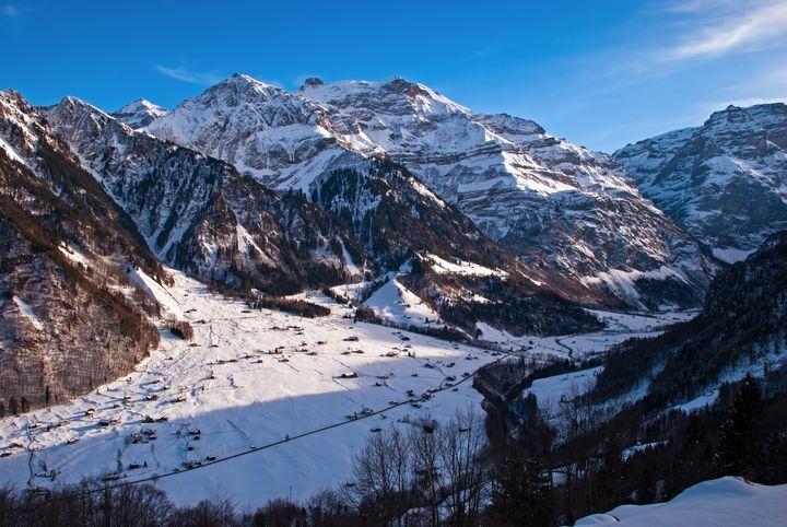 Winter Klausen Pass Switzerland - Kristin Greenwood