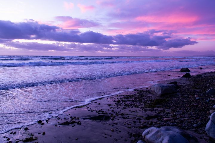 Scenic ocean sunset in Carlsbad Cali - Kristin Greenwood