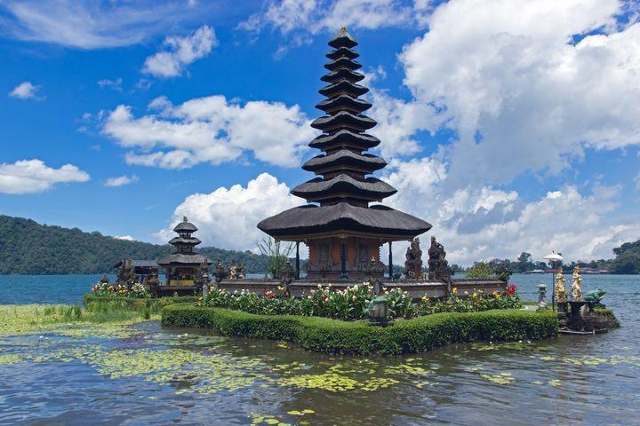 Pura Ulun Danu Bratan Temple in Bali - Kristin Greenwood