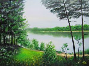 Samara river spring
