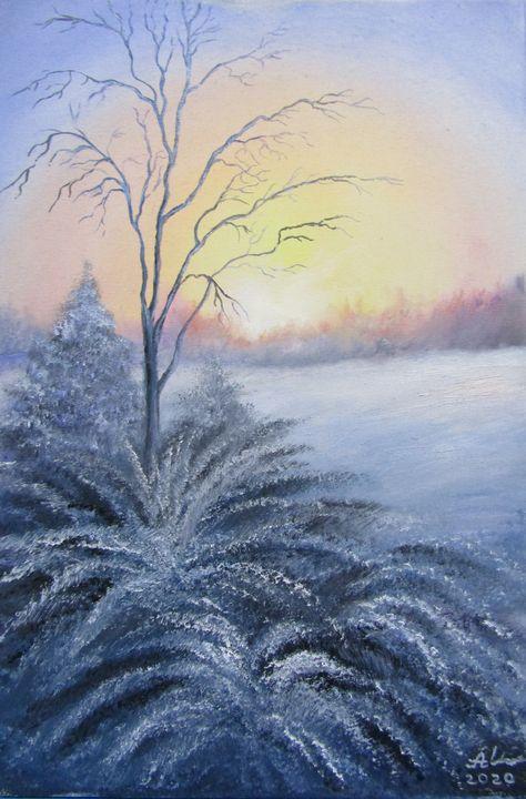 Frosty morning - Antonina