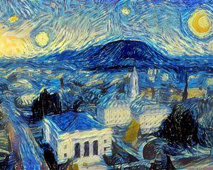 Starry Night, Penn State