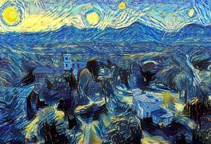 Starry Night, Amherst