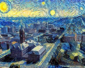 Starry Night, Duluth