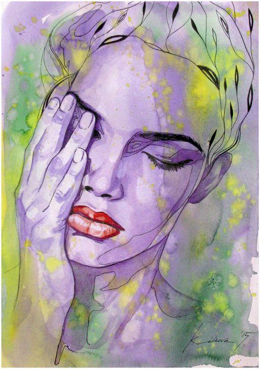 """""""I am everything...I am nothing"""" XIX - Kameliya Velkova Art"""