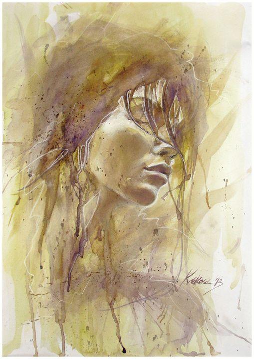 """""""Oblivion"""" I - Kameliya Velkova Art"""