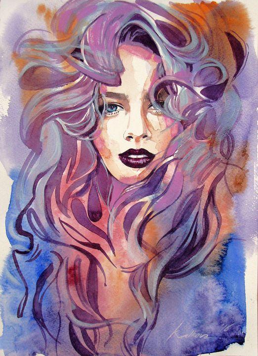 """""""SILENT REVERIE"""" I - Kameliya Velkova Art"""