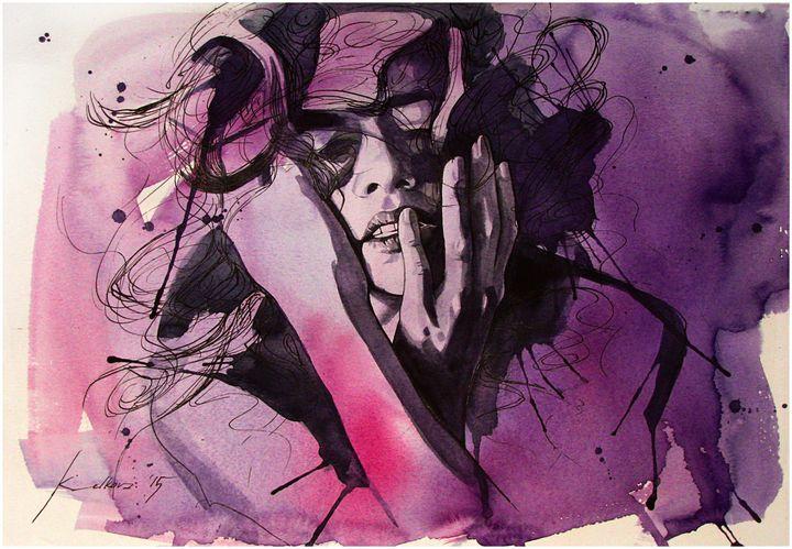 """""""I am everything...I am nothing"""" IX - Kameliya Velkova Art"""