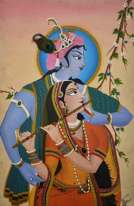 Radhe Krishna - Piya's Art