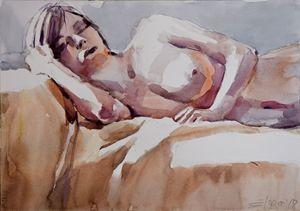 SLEEPING NUDE (2017)