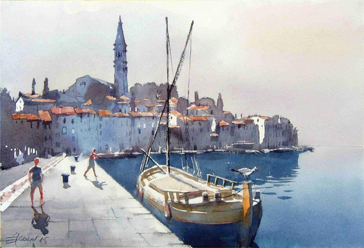 Rovigno - Goran ŽIgolić Watercolors