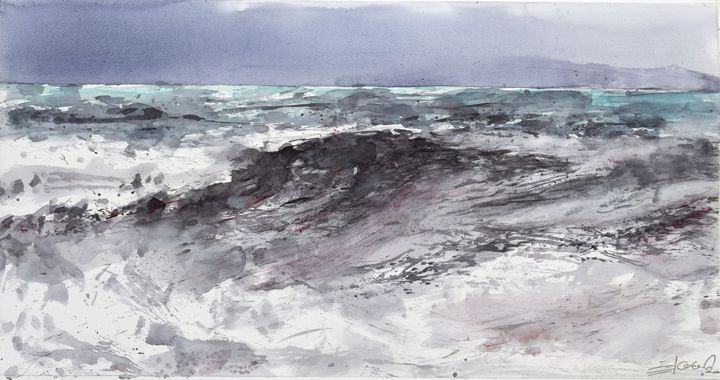 Mighty sea - Goran ŽIgolić Watercolors
