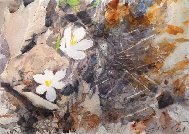 Heralds of spring - Goran ŽIgolić Watercolors