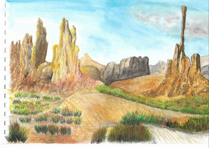 Monument valley - ArtistBear