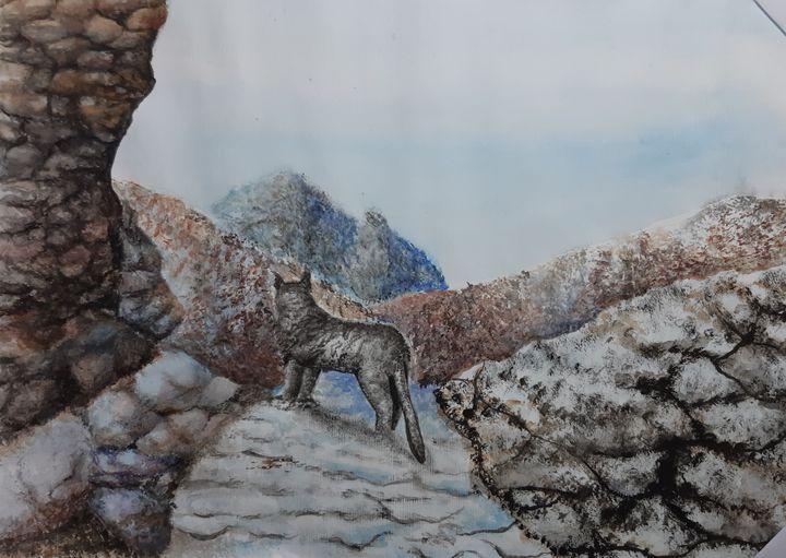 white leopard - ArtistBear
