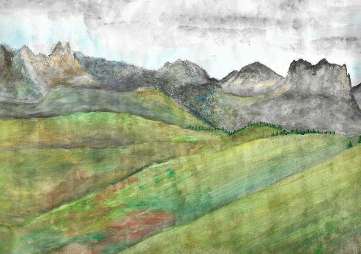 monviso fields - ArtistBear