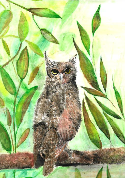 Owl - ArtistBear