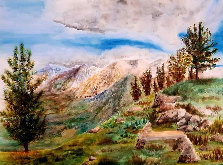 Mountain Top - ArtistBear
