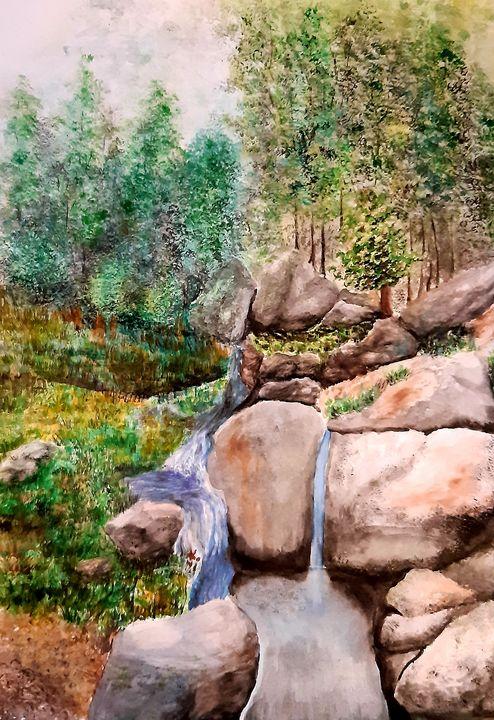 waterfall - ArtistBear