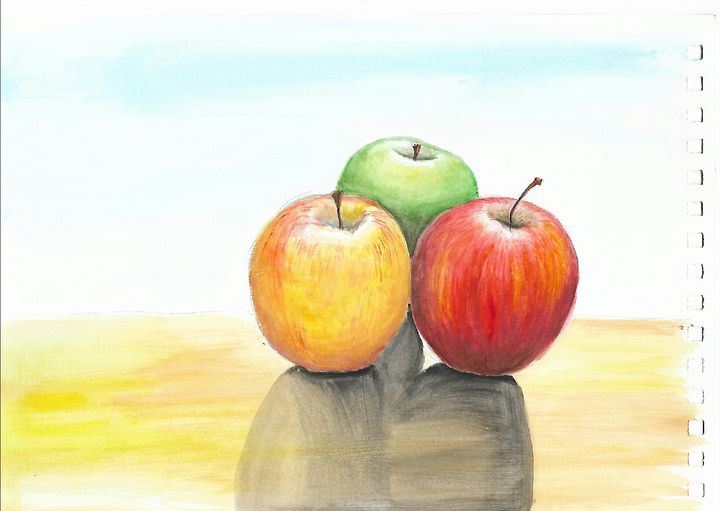 still life, aples - ArtistBear