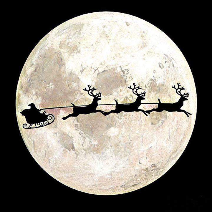 To The Moon Santa - Discover My World