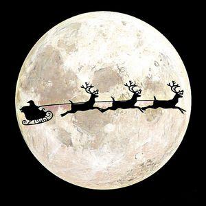 To The Moon Santa