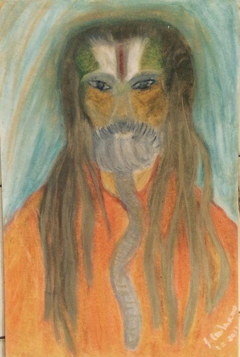 Desert Shaman (TAITA DEL DESIERTO) - Aluna Arte Borikén
