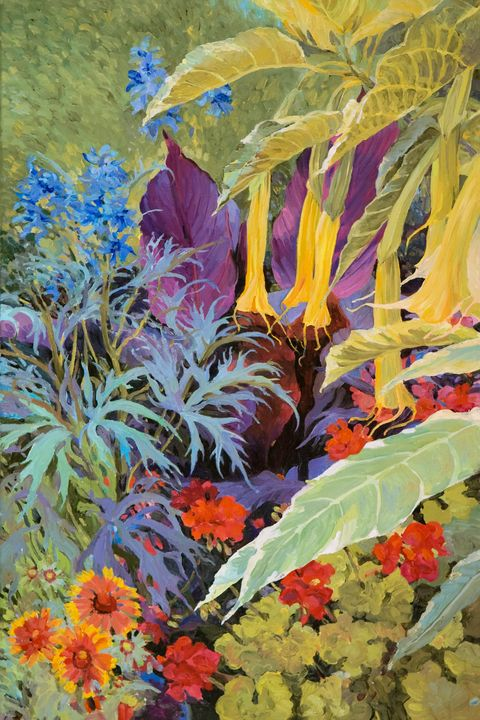 Brugmansia 1 - Judith Barath Arts