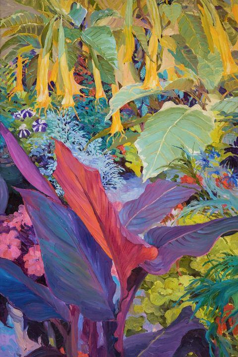 Brugmansia 3 - Judith Barath Arts