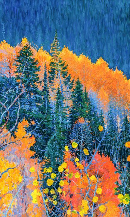 Colorado Trees at Fall - Judith Barath Arts