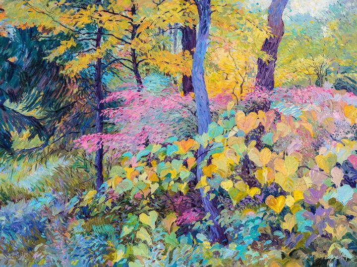 Fall in Lyman Woods - Judith Barath Arts