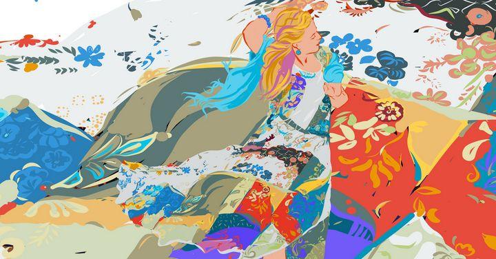 Summer Dress - Judith Barath Arts