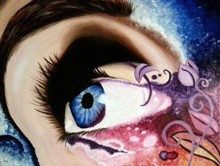 Abstract Eye - Sandra Mickiewicz
