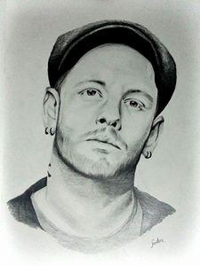 Portrait of Corey Taylor