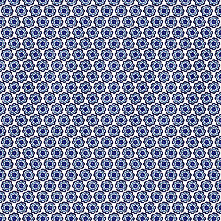 Flower blue - ducdesign