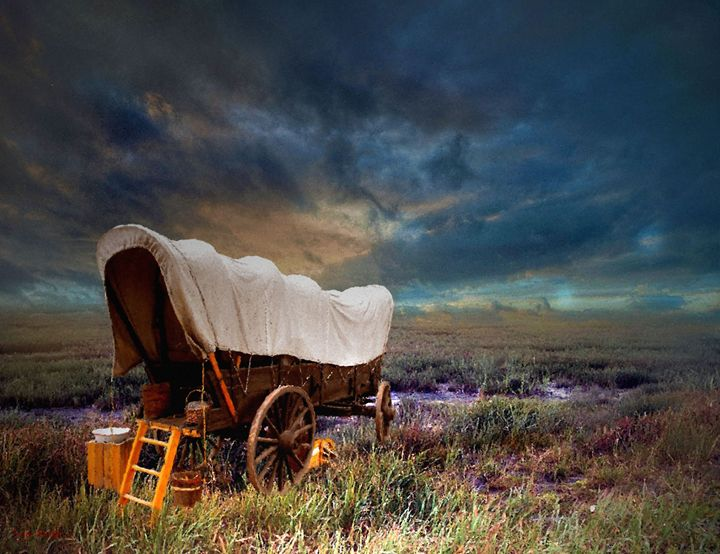 Old Covered Wagon - Tyler Robbins