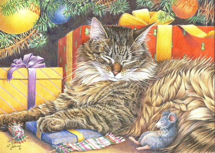 Trêve de Noël - Christmas peace - Nicole Barrière Jahan