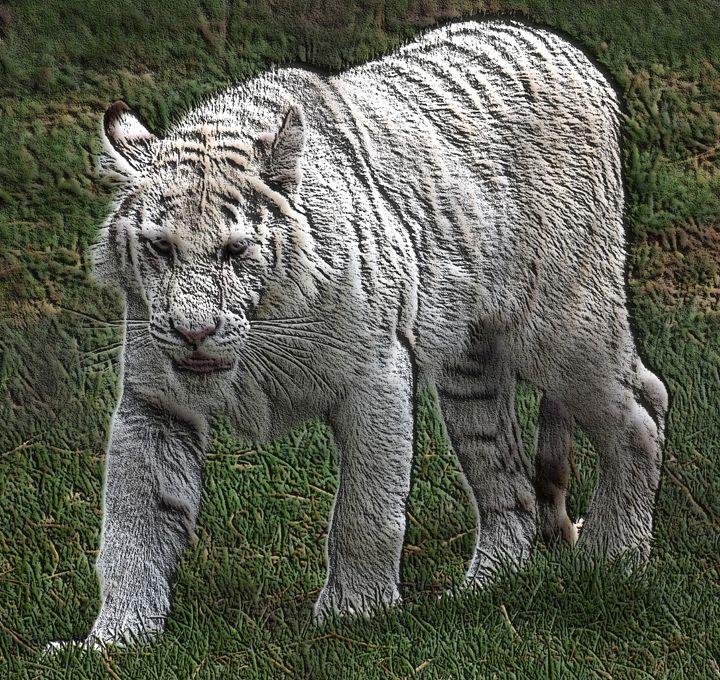 White Tiger Effect - PhinnsArt