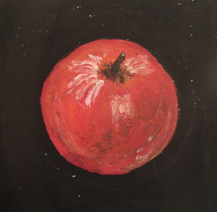 Red apple - Marilyn Kline